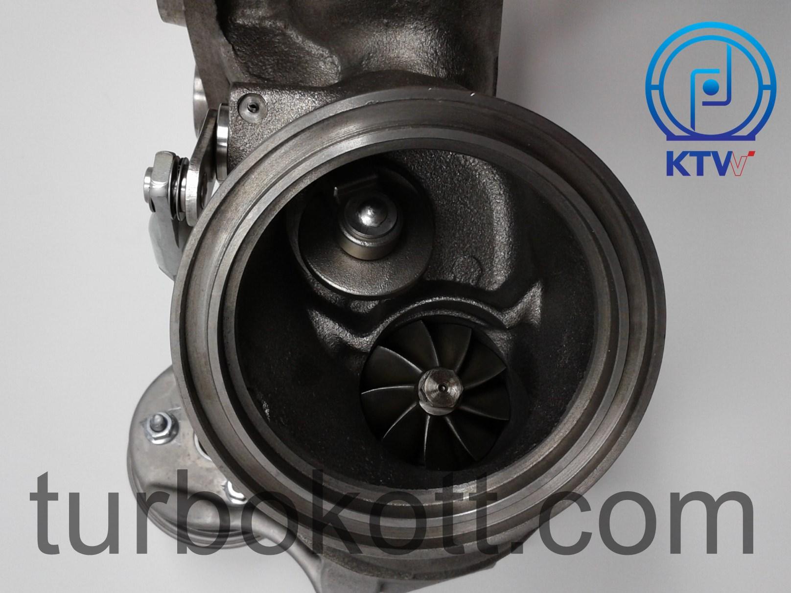 KTB003 N54 upgraded twin turbochargers